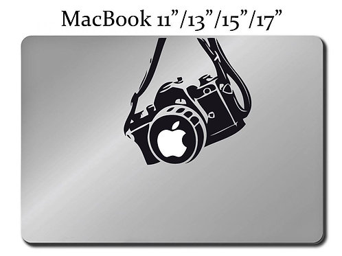 CAMERA Photography Decal LAPTOP