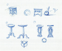 Sketches for Table Design
