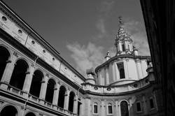 Sant'Ivo Courtyard