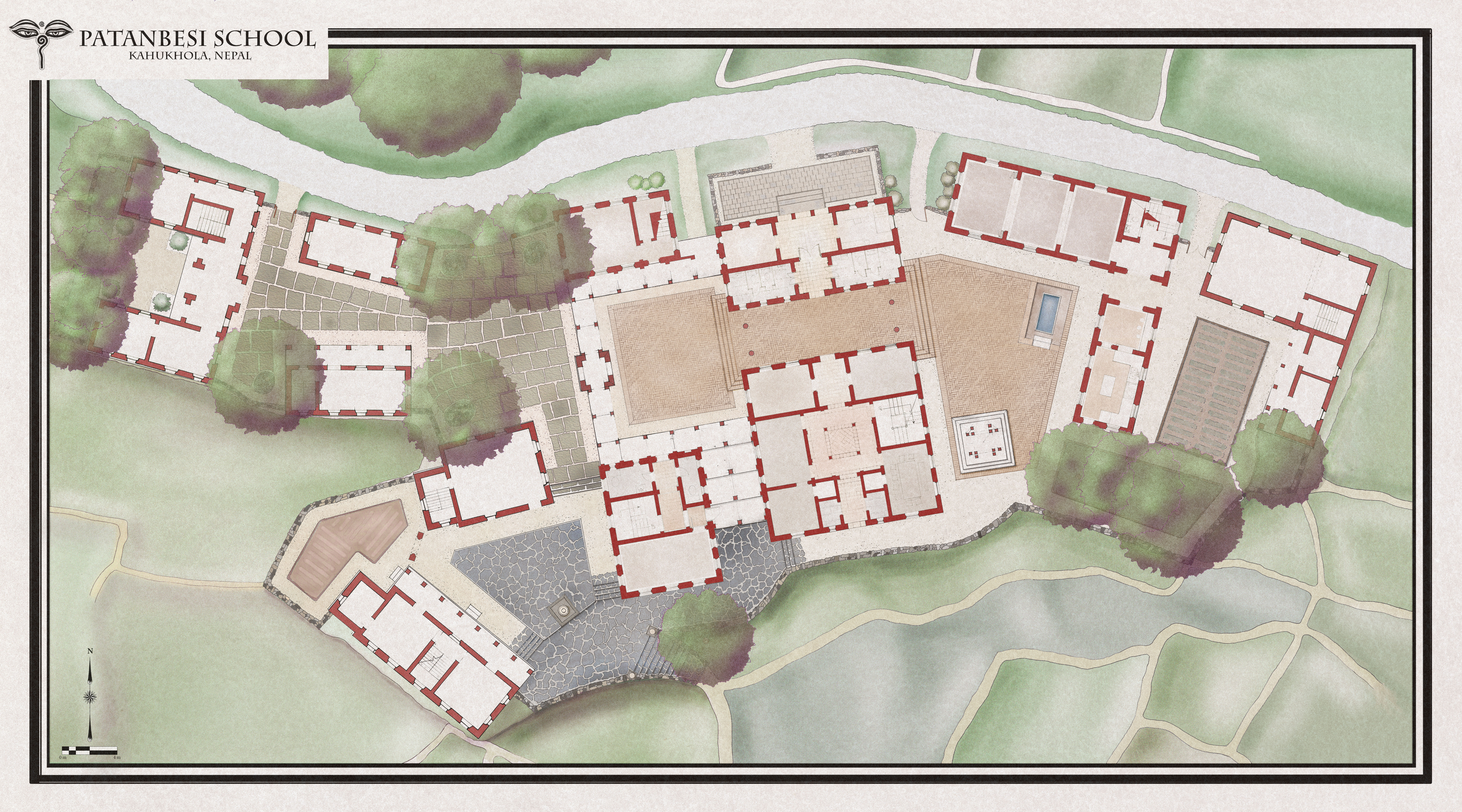 Patanbesi School Plan