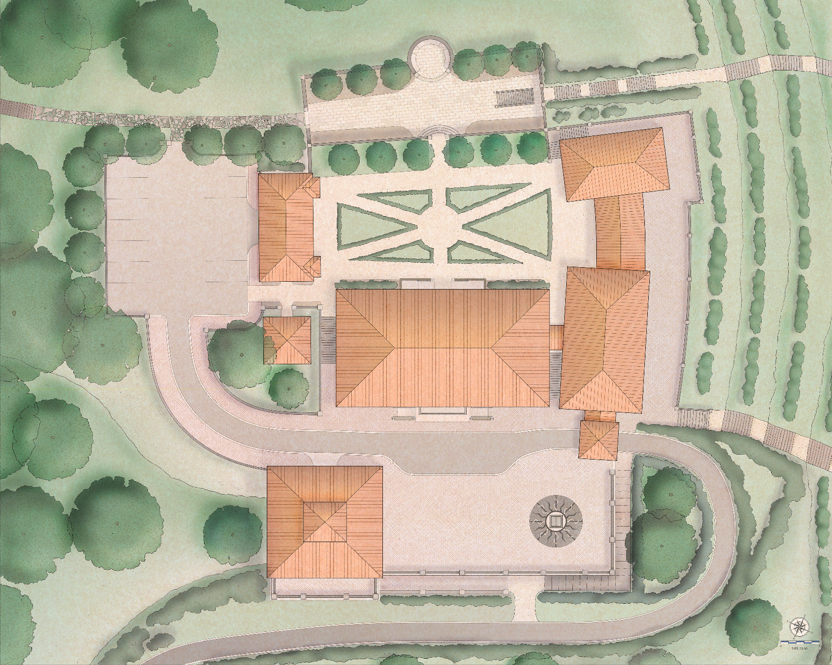 Winery Site Plan