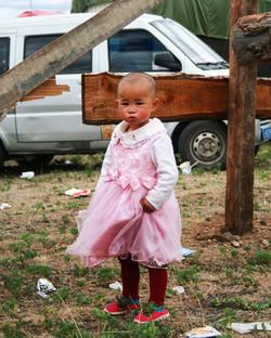 At the Tibetan Horse Festival