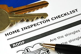 Home inspection punchlist