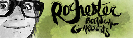 Rochester Botanical Gardens ad design (2019)