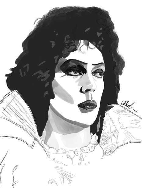 Tim Curry - Dr. Frank-N-Furter in Rocky Horror Picture Show (2019)