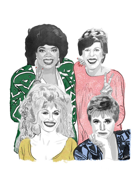 """Fab Four"" feat. Oprah, Carol Burnett, Dolly Parton, & Julie Andrews (2020)"