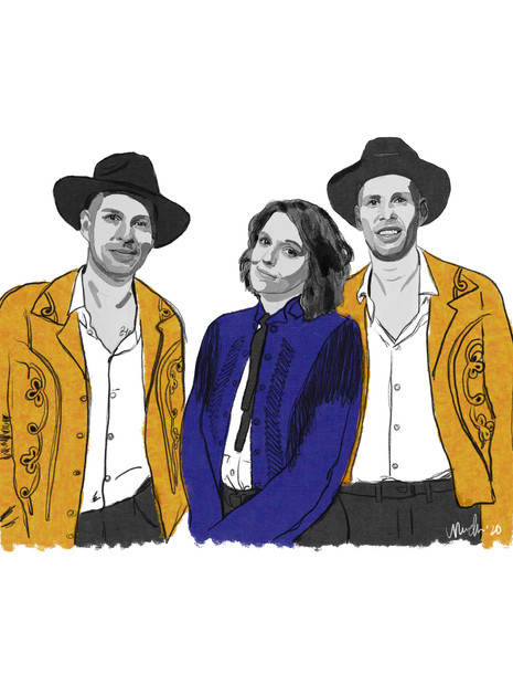 Brandi Carlile, Phil, & Tim Hanseroth (2020)