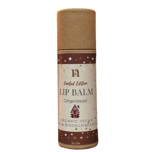 Gingerbread Limited Edition Lip Balm