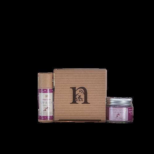 Sugar Plum Balm & Scrub Gift Set