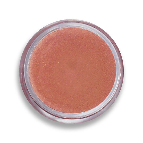 coral natural lip shine