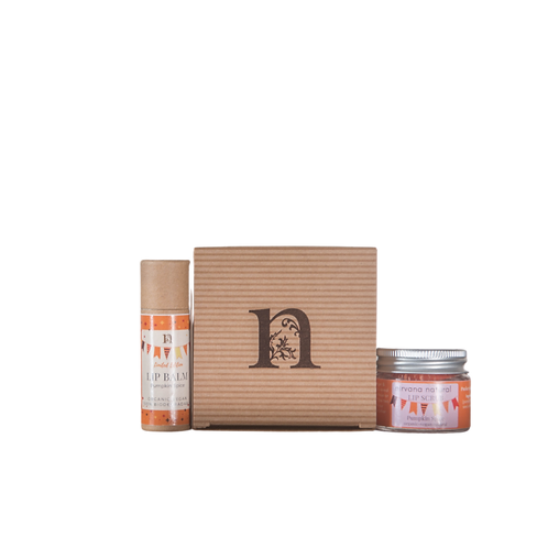 Pumpkin Spice Balm & Scrub Gift Set
