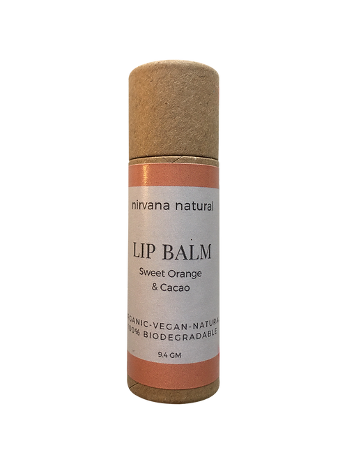 Sweet Orange & Cacao Lip Balm