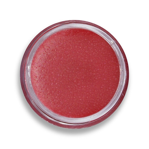 red all natural vegan lip shine