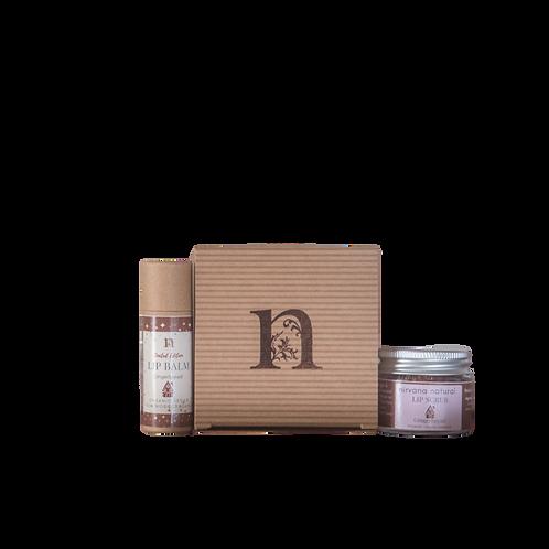 Gingerbread Balm & Scrub Gift Set