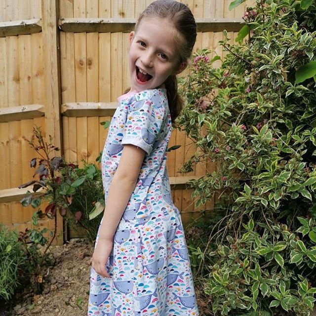 Amelia enjoying the sunshine in an oldie