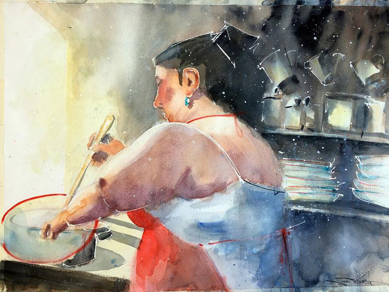 Cocinera Ñublina