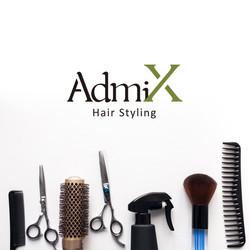 AdmiX Hair Styling Logo