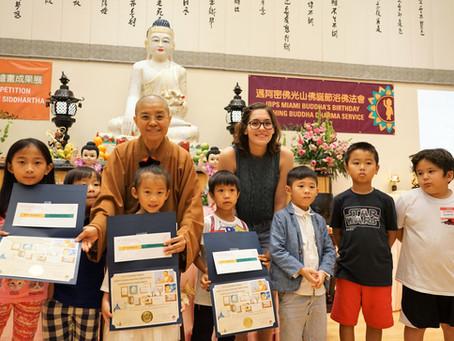 Happy Buddha 繪畫比賽 邁阿密佛光山引領社區認識佛陀
