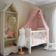 Interior styling of a little girls bedroom in Nedlands