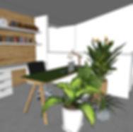3d render of study design