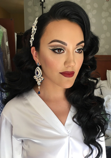 albanian bridal makeup look by by marrakech bridal makeup artist haley navarro