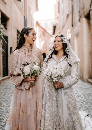 Jacqueline & Drew's Rome Wedding