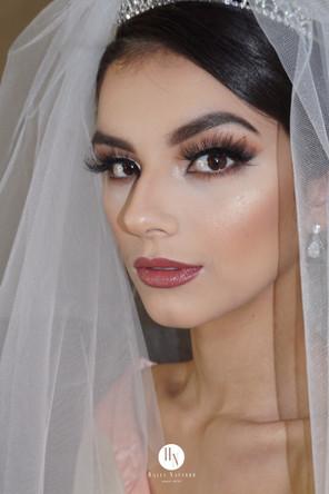 glamourous bridal makeup look by marrakech bridal makeup artist haley navarro