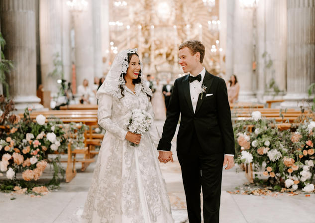 Jaqueline & Drew's Rome Wedding