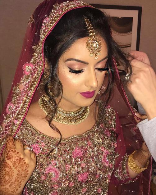 pakistani bridal makeup look by marrakech bridal makeup artist haley navarro