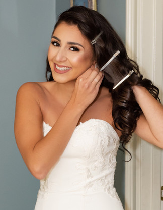 contoured bridal look by marrakech bridal makeup artist haley navarro