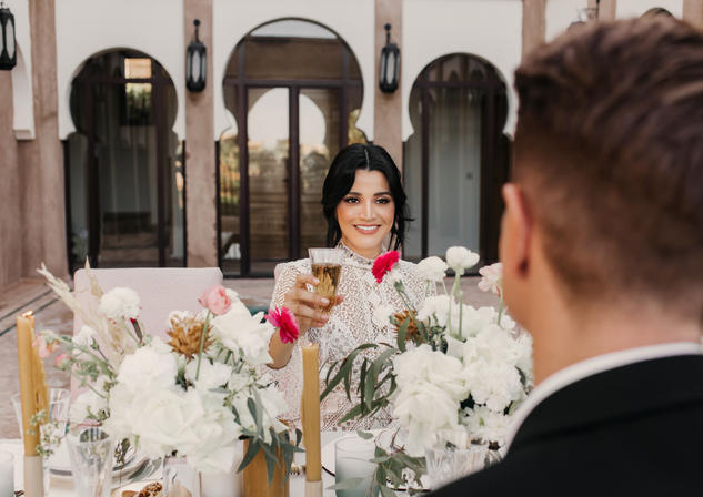 Alex & JB's Marrakech Wedding