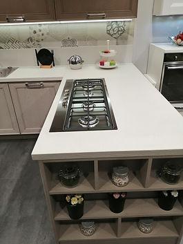 Cucina Stosa Maxim - Dettaglio lato break e cottura