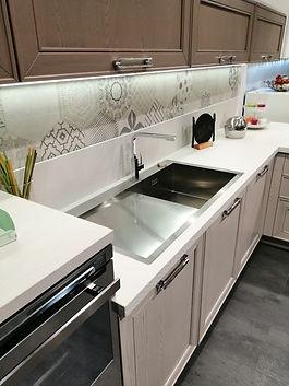 Cucina Stosa Maxim - Dettaglio lato lavello