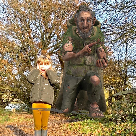 Pulborough friendly Giant trail, free Sussex day out