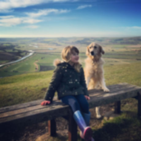Free things to do with children. Family walks Sussex. Lewes. Mount Caburn.