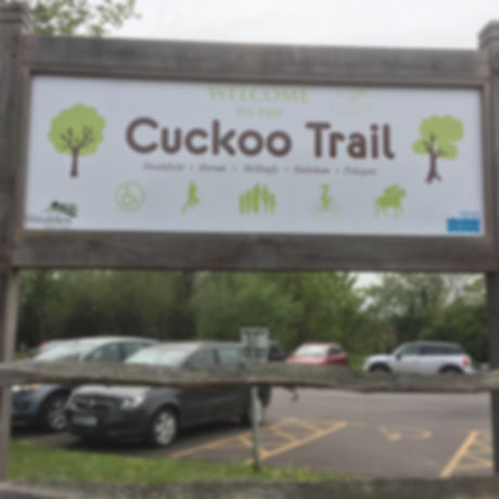 Surfaced cycle trail. Wheelchairs and pushchairs. Easy cycling. Free family fun. Scooting. Cuckoo trail. East Sussex. Eastbourne