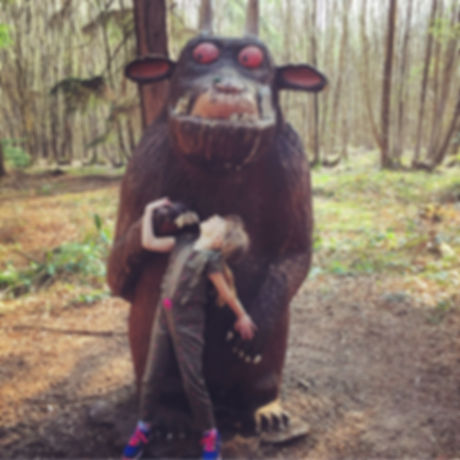Free family day out Kent and Sussex. Bedgebury Forest Zog, Gruffalo, day out with kids. Cycling and mountain biking trails