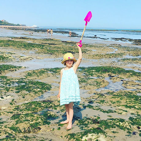 Free activities Eastbourne East Sussex rock pooling kids