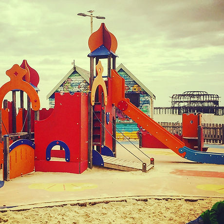King's Road Playground and paddling pool, Free days out Brighton