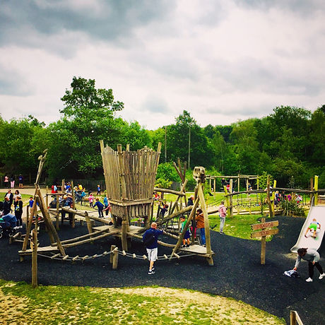 Amazing Adventure playground for all ages Horsham Sussex. Free fun for kids