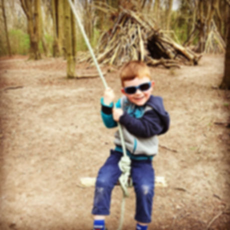 Forest walk and mountain bike trail for teenagers, families and children, Seaford, East Sussex