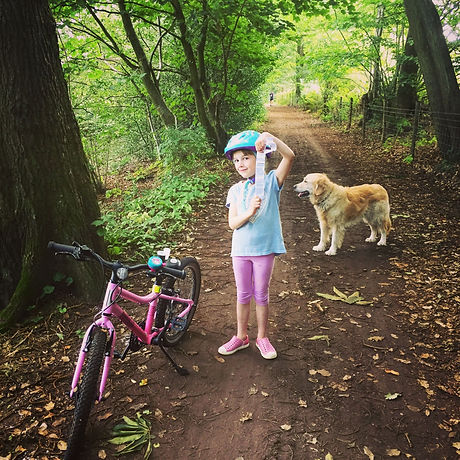 Cycle trail Forest Row East Sussex. Free family fun children and teenagers