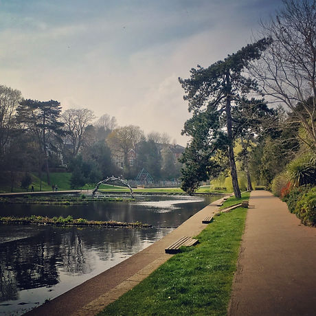 Hastings East Sussex. Park. Reservoirs. Walking, cycling, scooting. Free day out. Families, children, kids, teenagers, toddlers