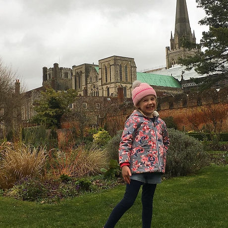 Family historic trail Chichester. Cathedral. Playground. Free fun for children.