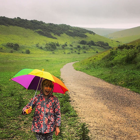 Castle Hill. South Downs National park. Circular family walk. Dog friendly. Free family fun. Brighton. Sussex.