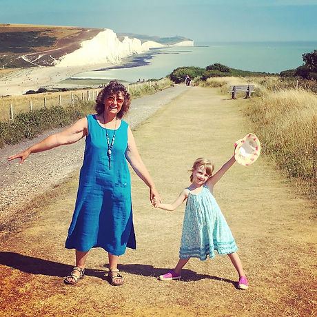 Free days out East Sussex. Seaford Head Nature Reserve walk, beach, picnic