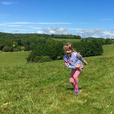 Country park. Brighton. South Downs. Walking Trails. Stanmer village. Free family adventure.