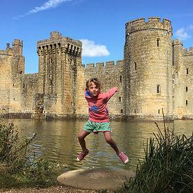 Bodiam Castle, National Trust, East Sussex, Kent, Child-friendly, Family adventure
