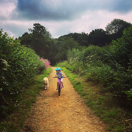Free family adventure Sussex. Worth Way Cycle Trail Crawley West Sussex. Wheelchair and pushchair friendly