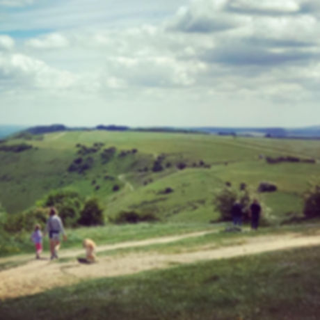 South Downs National Park. Mud-free walking. Family walking and cycling. Stunning views.